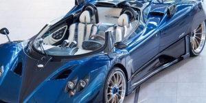 Now The World's Most Expensive Car – Pagani Zonda HP Barchetta