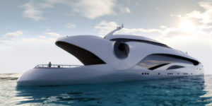 Oculus : a luxury yacht inspired by a whale