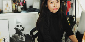 Calligraphy Artist and Illustrator Lihua Wong Draws Her Way Into Fashion
