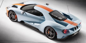 Monaco Gulf Inspired 2019 Ford GT Heritage Edition
