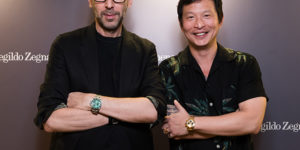 Alessandro Sartori, Artistic Director of Ermenegildo Zegna, at Singapore Grand Prix 2018