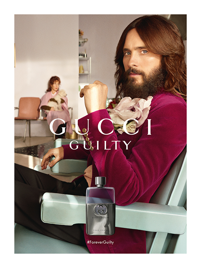 1c824b77725 Jared Leto and Lana Del Rey front the new  ForeverGuilty rendition of Gucci  Guilty. Life meets art here as the two bold and talented artists known for  their ...