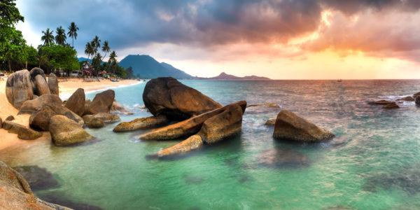 Sunrise on Lamai, one of Samui's many iconic beaches; Photo: Zhukova Valentyna