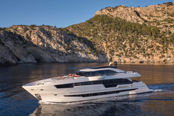 Astondoo's second 110 Century was introduced in 2018 and continues the yacht's international orientation since its centenary