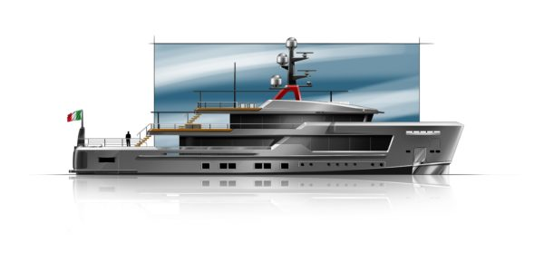 CRN's AlfaRosso explorer yachts are by Francesco Paszkowski Design