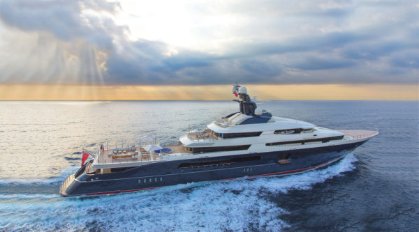 Equanimity is currently in Malaysia and available as a 'sail-away superyacht'