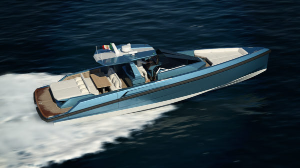 Ferretti Group expects the 48 Wallytender to show at September's Cannes Yachting Festival