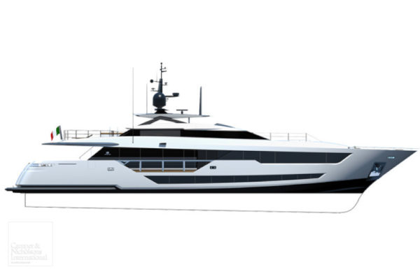 Ferretti Group sold the Custom Line 120' new build in collaboration with Camper & Nicholsons