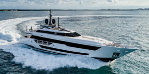Ferretti Group, C&N Sell Custom Line 120' New Build to Asian Client
