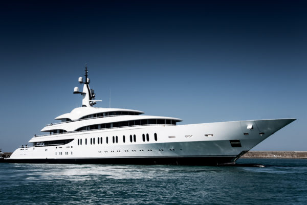 The 108m build is Benetti's longest-ever yacht