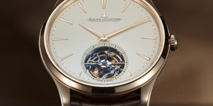 New Jaeger-LeCoultre Master Ultra Thin Tourbillon in Pink Gold