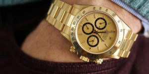 Ayrton Senna's Gold Rolex Daytona Could Be Yours From $100K USD Onwards