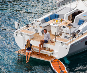 Port Vendres, France, August 2018 New Beneteau Oceanis 46.1 Ph: Guido Cantini / Beneteau