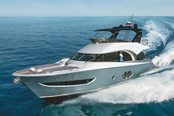 Monte Carlo Yachts' new MCY 66 follows the 70 as part of the Italian builder's 'second generation'