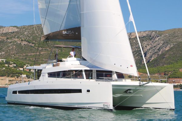 The 5.4 is the flagship of the Bali Catamarans range.