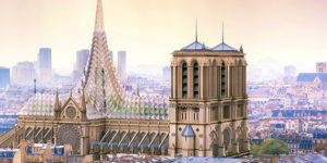 Should Notre Dame be constructed contemporarily or traditionally?