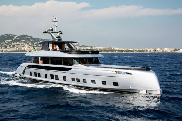 Dynamiq's range of all-aluminium yachts include the GTT 115