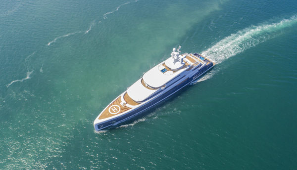 The 88.5m Illusion Plus launched by Pride Mega Yachts in 2018 is the biggest yacht built in Asia