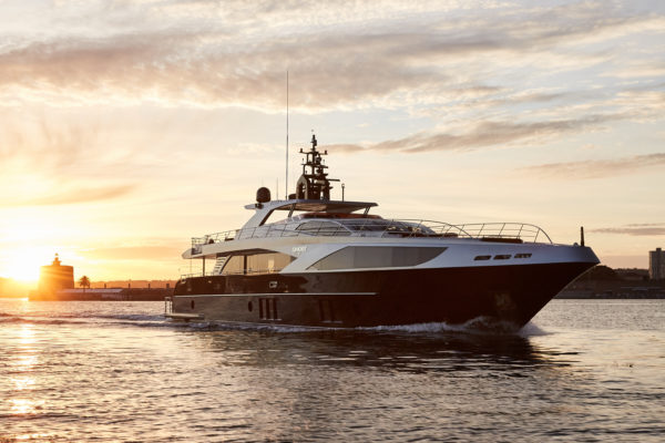 Ghost II is among the line-up of superyachts set for Gold Coast City Marina and Shipyard