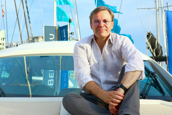 Herve Gastinel has been CEO of Beneteau Group since September 18, 2015
