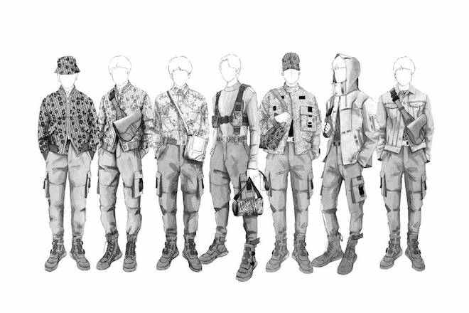 Dior's Kim Jones designing costumes for BTS World Tour was