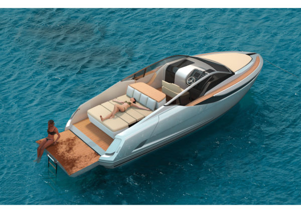 Fairline is also completing the F//Line 33, the smallest model in its range