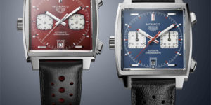Red Hot TAG Heuer Monaco 1979-1989 Limited Edition