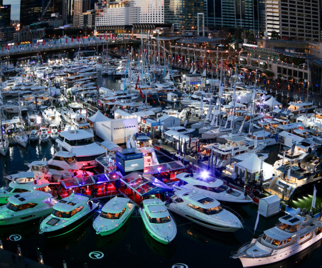 Sydney International Boat Show, Cockle Bay Marina, Darling Harbour