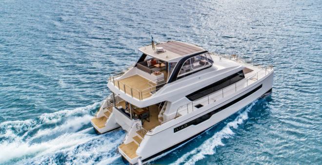 Design of the Iliad 50 has evolved from the practical experiences of over 400 multihull owners