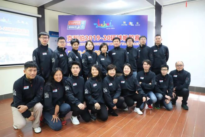 The 18 Zhuhai Ambassador Crew who qualified from a three-day selection process