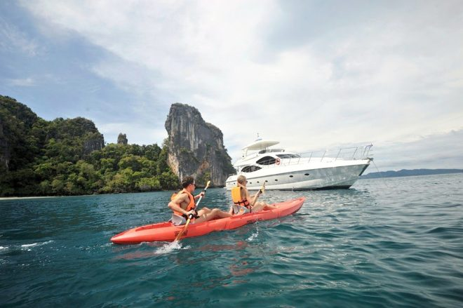 The 24m Sunbird 80 had a refit in 2018 and offers plenty of toys