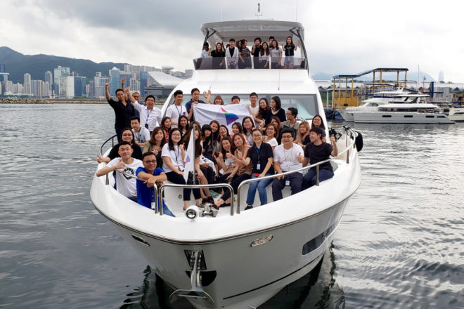 Lai and Prizm Group employees on board Tory