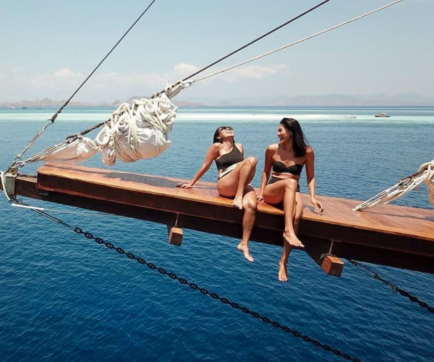 Indonesia is a popular charter yacht destination for tourists from across Asia