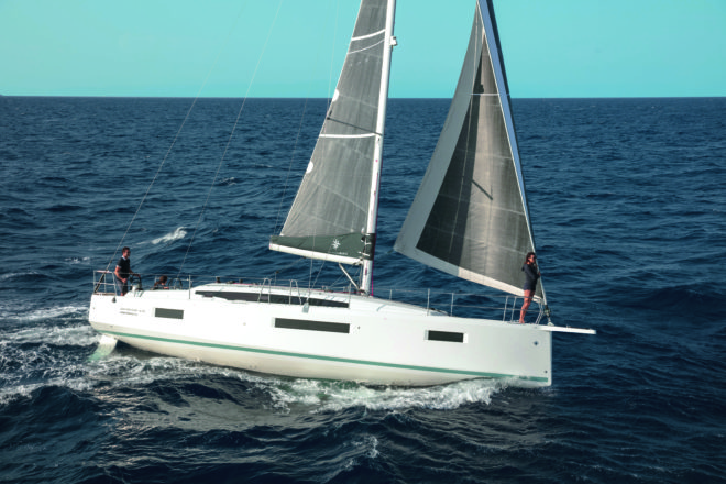 The Jeanneau Sun Odyssey 410 continues the functional design of this well proven range and is an ideal size at 42 foot for cruising