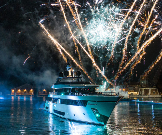 Riva 50 Metri Race private premiere Venice