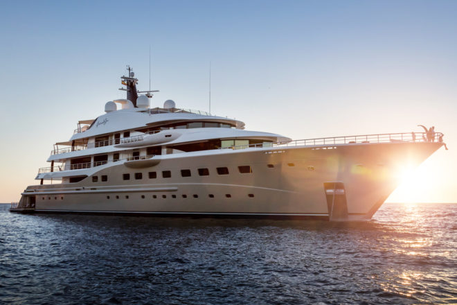The largest yacht built to date by leading Dutch superyacht builder Amels, the 83m Here Comes The Sun is making her Monaco Yacht Show debut