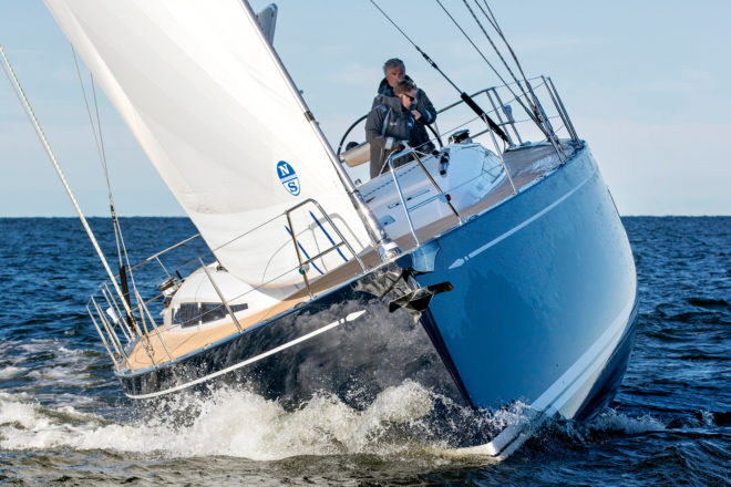 The Swan 48 had already sold at least 25 units during its world premiere at the Cannes Yachting Festival
