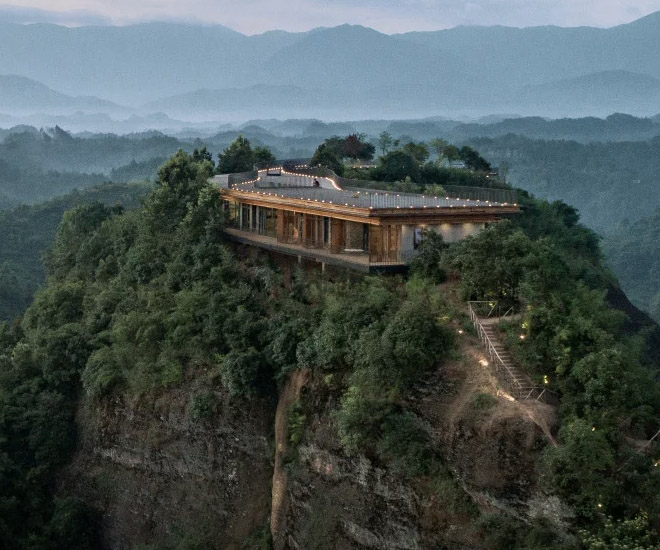 The Pingjiang Homey Wild Luxury Hotel Is The World S Most