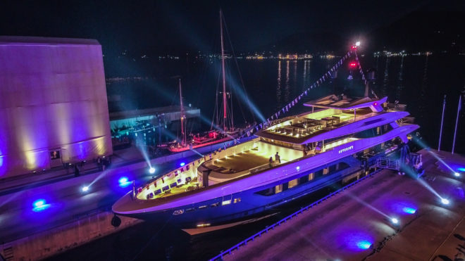 Baglietto's 55m Severin will be among the world premieres in Monaco