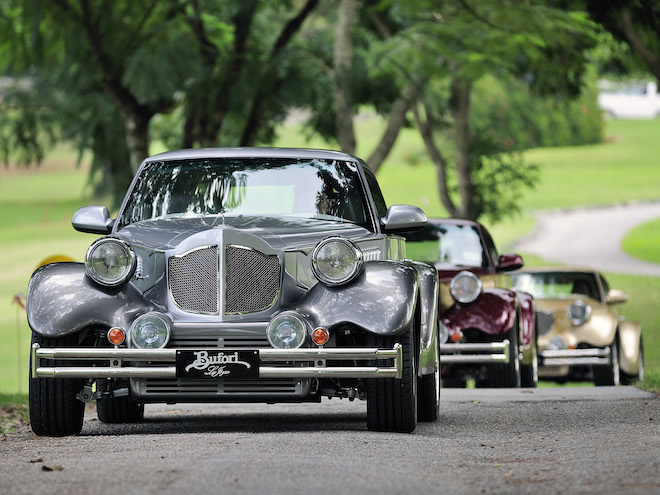 Bufori cars, built in Malaysia, will star at the second Penang RendezVous