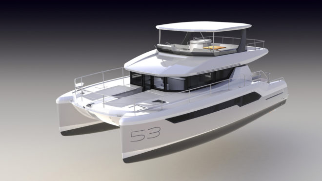 The first two units of the Leopard 53 Powercat are scheduled to arrive in Fort Lauderdale in January