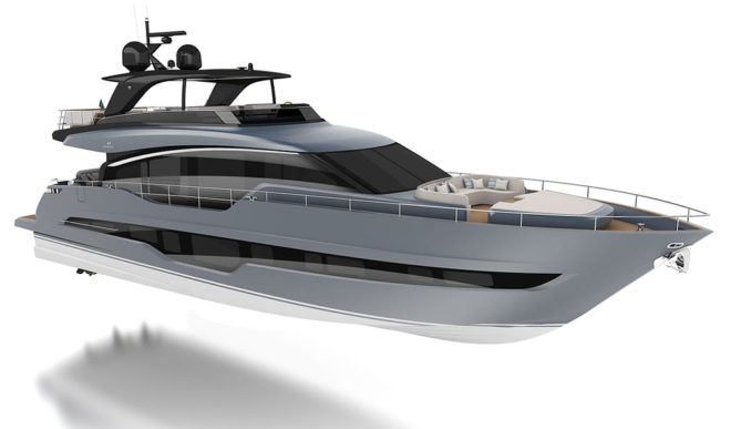 The world premiere of Cranchi's 78ft Settantotto will be held at Boot Dusseldorf in January
