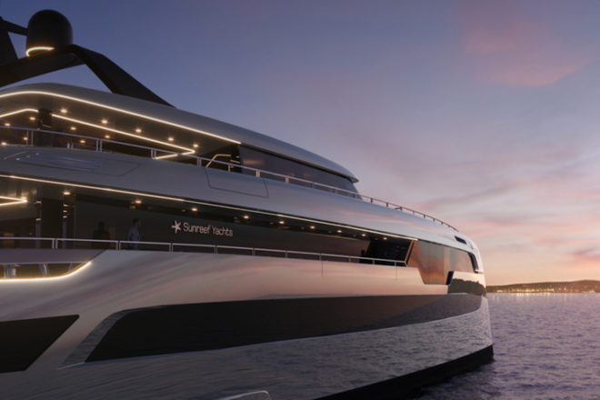 The 49M Sunreef Power is the Polish yard's biggest-ever project