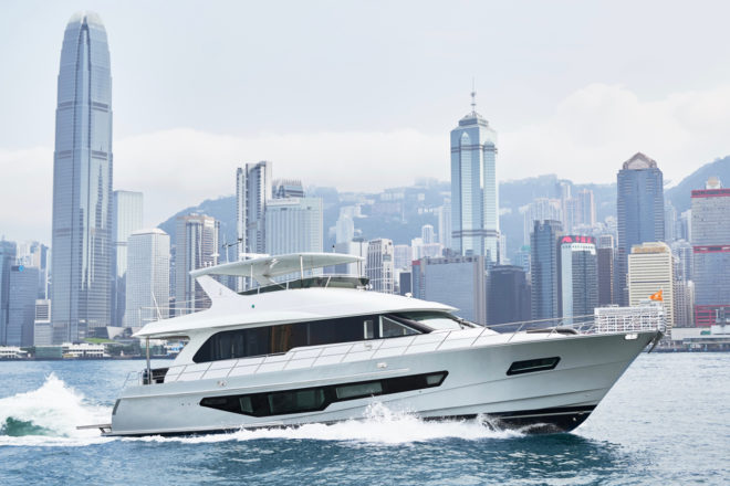 A Hong Kong owner bought the third hull of the CLB72