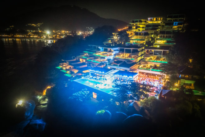 Kata Rocks Superyacht Rendezvous is renowned for its entertainment