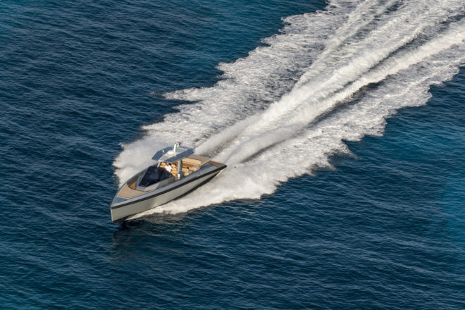 The 48 Wallytender is among four Reviews in Yacht Style Issue 50