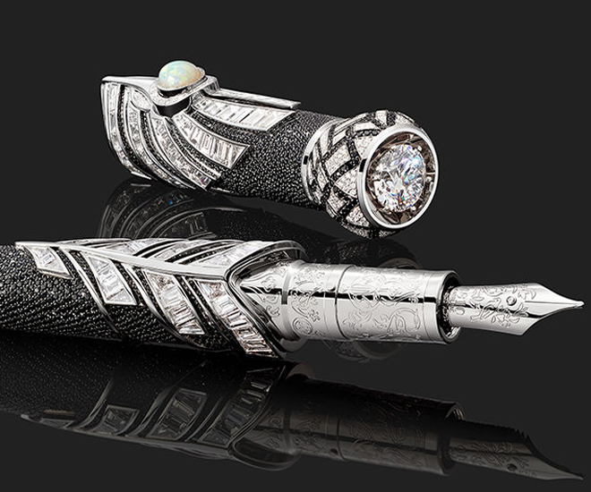 First Look at The Montblanc High Artistry $2 Million Dollar Pen