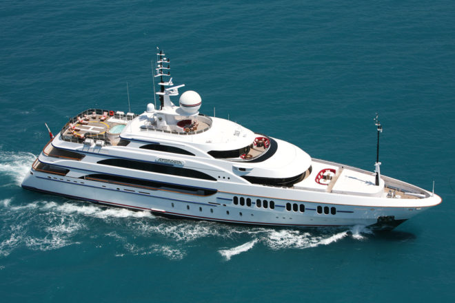 Top 100 Superyachts of Asia-Pacific 2020: 35, Ambrosia