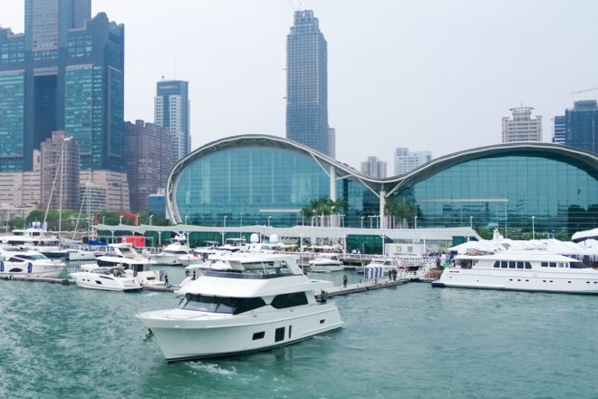 The Taiwan International Boat Show will again be held at the Kaohsiung Exhibition Center and Horizon City Marina