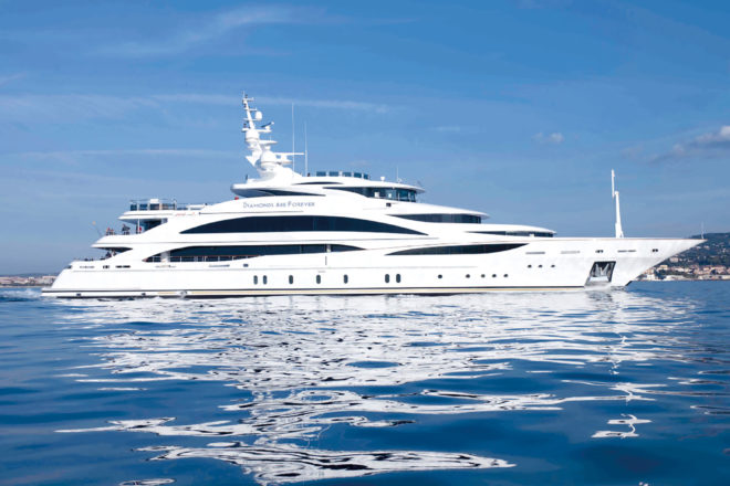 Top 100 Superyachts Asia-Pacific: 42, Diamonds Are Forever